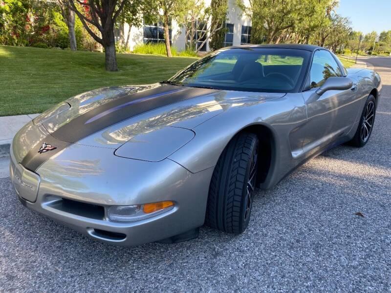1999 Chevrolet Corvette for sale at Donada  Group Inc in Arleta CA