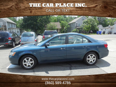 2006 Hyundai Sonata for sale at THE CAR PLACE INC. in Somersville CT