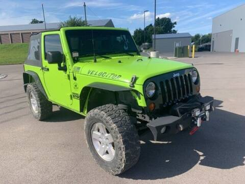 2012 Jeep Wrangler for sale at Tim Short Auto Mall in Corbin KY