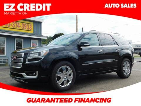 2016 GMC Acadia for sale at Pioneer Family preowned autos in Williamstown WV