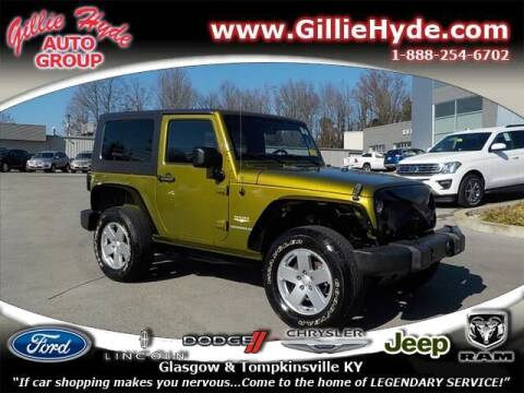 2007 Jeep Wrangler for sale at Gillie Hyde Auto Group in Glasgow KY