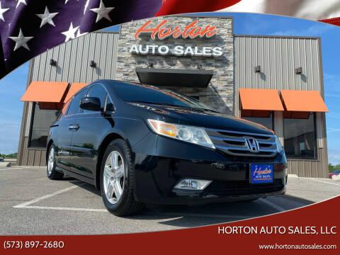 2011 Honda Odyssey for sale at HORTON AUTO SALES, LLC in Linn MO