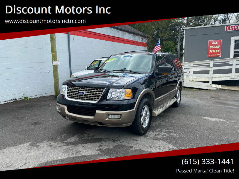 2004 Ford Expedition for sale at Discount Motors Inc in Nashville TN