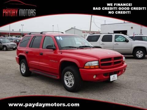 2001 Dodge Durango for sale at Payday Motors in Wichita KS