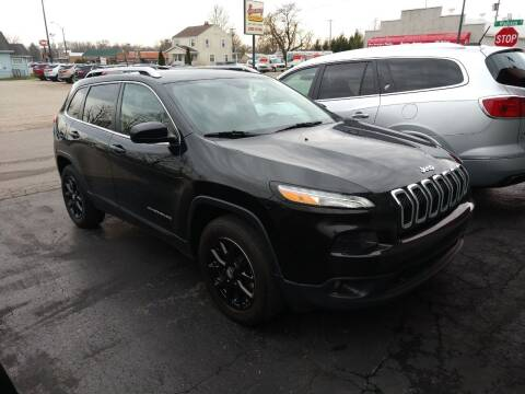 2016 Jeep Cherokee for sale at Economy Motors in Muncie IN
