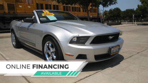2010 Ford Mustang for sale at Super Cars Sales Inc #1 in Oakdale CA