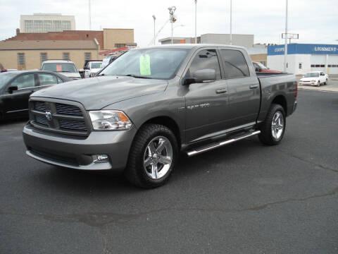 2012 RAM Ram Pickup 1500 for sale at Shelton Motor Company in Hutchinson KS