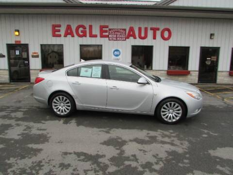 2011 Buick Regal for sale at Eagle Auto Center in Seneca Falls NY