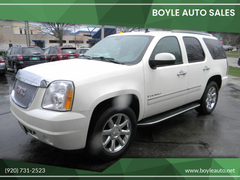 2009 GMC Yukon for sale at Boyle Auto Sales in Appleton WI
