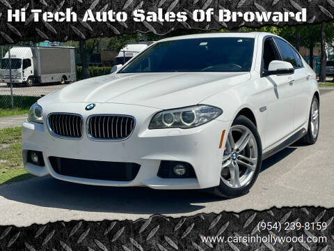 2015 BMW 5 Series for sale at Hi Tech Auto Sales Of Broward in Hollywood FL