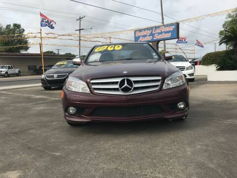 2008 Mercedes-Benz C-Class for sale at Bobby Lafleur Auto Sales in Lake Charles LA