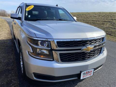 2015 Chevrolet Tahoe for sale at Mr. Car City in Brentwood MD