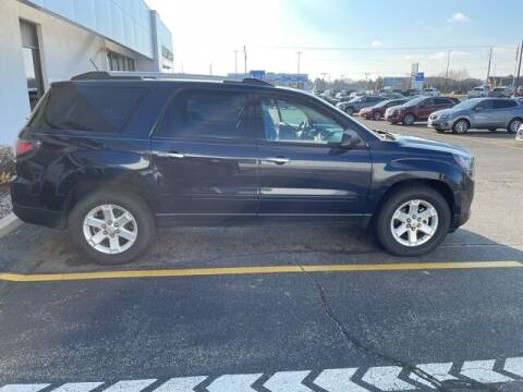 2015 GMC Acadia for sale at Bob Clapper Automotive, Inc in Janesville WI