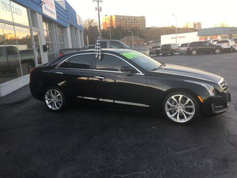 2014 Cadillac ATS for sale at Brian Jones Motorsports Inc in Danville VA