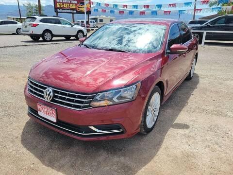 2017 Volkswagen Passat for sale at Bickham Used Cars in Alamogordo NM