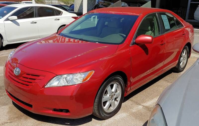 2009 Toyota Camry for sale at 4 U MOTORS in El Paso TX