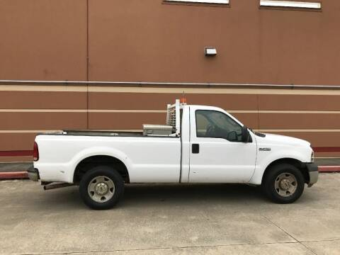 2006 Ford F-250 Super Duty for sale at ALL STAR MOTORS INC in Houston TX