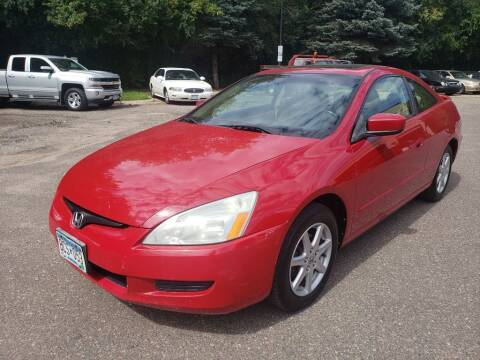 2004 Honda Accord for sale at Fleet Automotive LLC in Maplewood MN