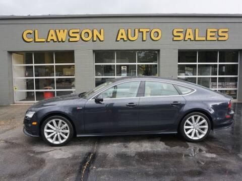 2013 Audi A7 for sale at Clawson Auto Sales in Clawson MI