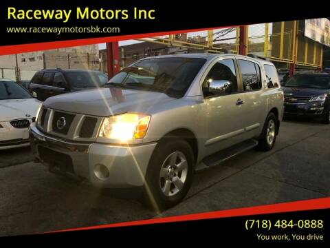 2004 Nissan Armada for sale at Raceway Motors Inc in Brooklyn NY