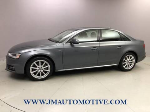 2014 Audi A4 for sale at J & M Automotive in Naugatuck CT