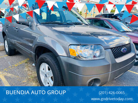 2006 Ford Escape for sale at BUENDIA AUTO GROUP in Hasbrouck Heights NJ