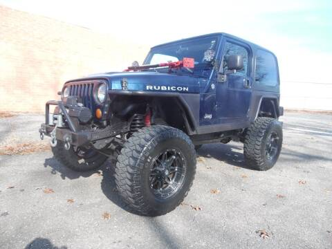 2004 Jeep Wrangler for sale at Williams Auto & Truck Sales in Cherryville NC