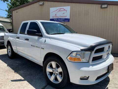 2012 RAM Ram Pickup 1500 for sale at Autos EZ Way in Houston TX