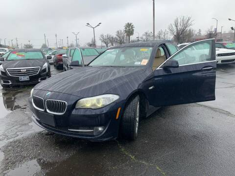 2013 BMW 5 Series for sale at Okaidi Auto Sales in Sacramento CA