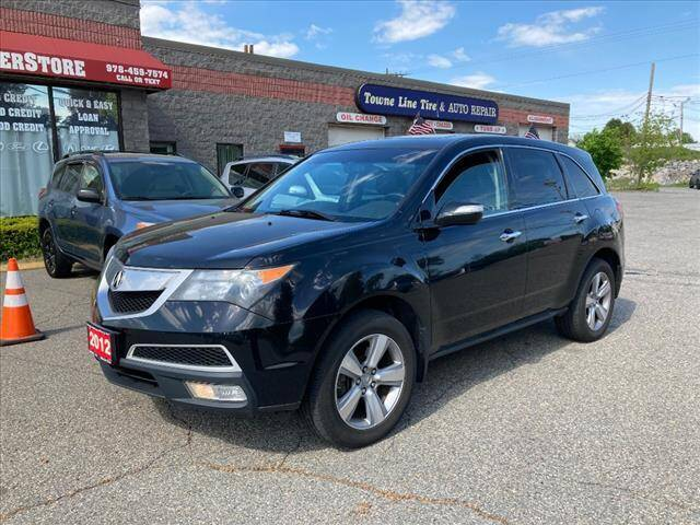 2012 Acura MDX for sale at AutoCredit SuperStore in Lowell MA