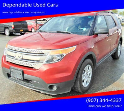 2013 Ford Explorer for sale at Dependable Used Cars in Anchorage AK
