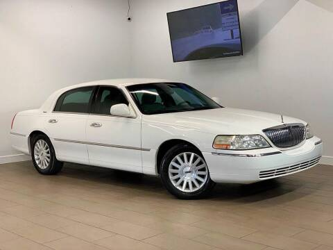 2003 Lincoln Town Car for sale at Texas Prime Motors in Houston TX