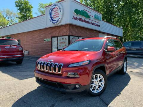 2014 Jeep Cherokee for sale at GMA Automotive Wholesale in Toledo OH