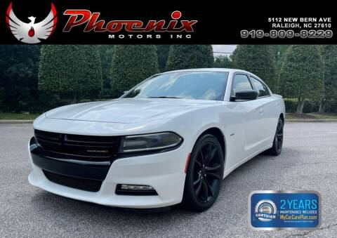 2016 Dodge Charger for sale at Phoenix Motors Inc in Raleigh NC