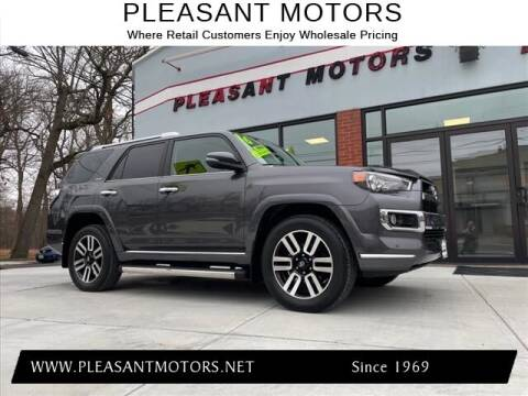 2016 Toyota 4Runner for sale at Pleasant Motors in New Bedford MA