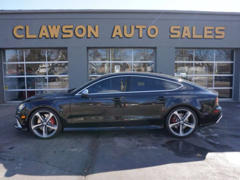 2017 Audi RS 7 for sale at Clawson Auto Sales in Clawson MI