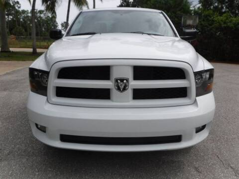 2012 RAM Ram Pickup 1500 for sale at Seven Mile Motors, Inc. in Naples FL