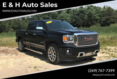 2015 GMC Sierra 1500 for sale at E & H Auto Sales in South Haven MI