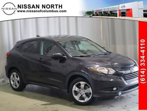 2017 Honda HR-V for sale at Auto Center of Columbus in Columbus OH