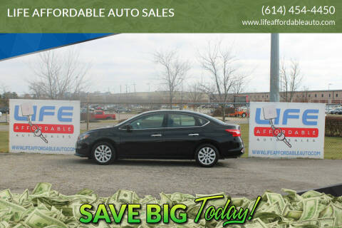 2018 Nissan Sentra for sale at LIFE AFFORDABLE AUTO SALES in Columbus OH