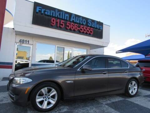 2013 BMW 5 Series for sale at Franklin Auto Sales in El Paso TX