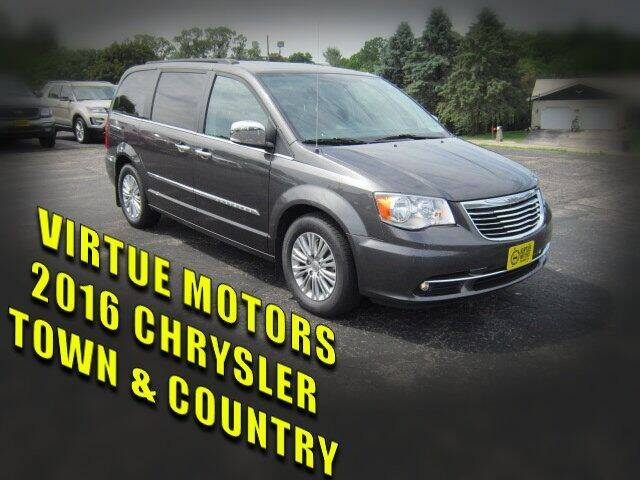 2016 Chrysler Town and Country for sale at Virtue Motors in Darlington WI
