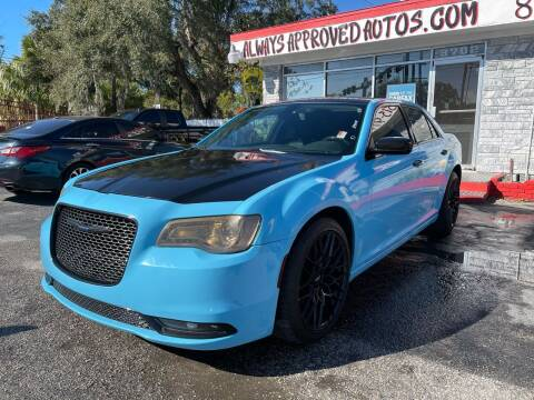 2017 Chrysler 300 for sale at Always Approved Autos in Tampa FL