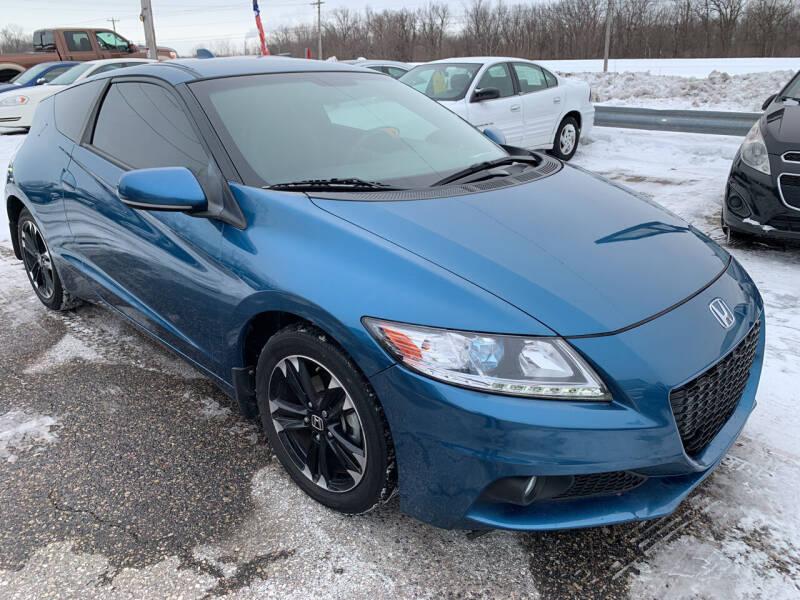 2015 Honda CR-Z for sale at 51 Auto Sales Ltd in Portage WI