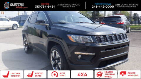 2019 Jeep Compass for sale at Quattro Motors 2 - 1 in Redford MI