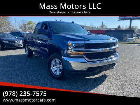2017 Chevrolet Silverado 1500 for sale at Mass Motors LLC in Worcester MA