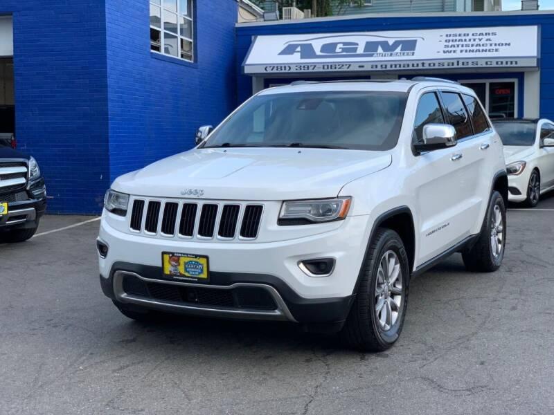 2014 Jeep Grand Cherokee for sale at AGM AUTO SALES in Malden MA