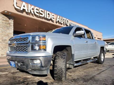 2015 Chevrolet Silverado 1500 for sale at Lakeside Auto Brokers Inc. in Colorado Springs CO