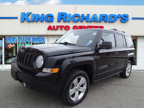 2013 Jeep Patriot for sale at KING RICHARDS AUTO CENTER in East Providence RI