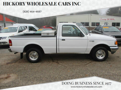 1994 Ford Ranger for sale at Hickory Wholesale Cars Inc in Newton NC
